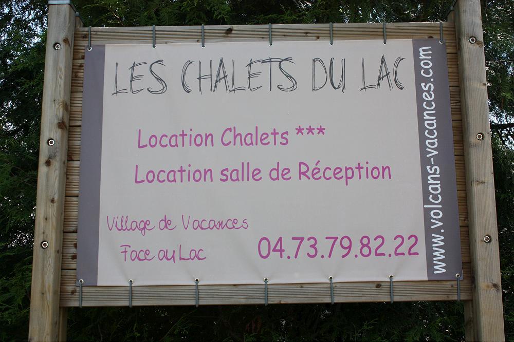 Camping les chalets du lac Auvergne 1 grande photo