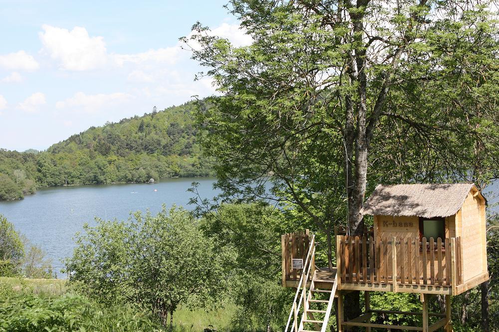 camping les chalets du lac Auvergne
