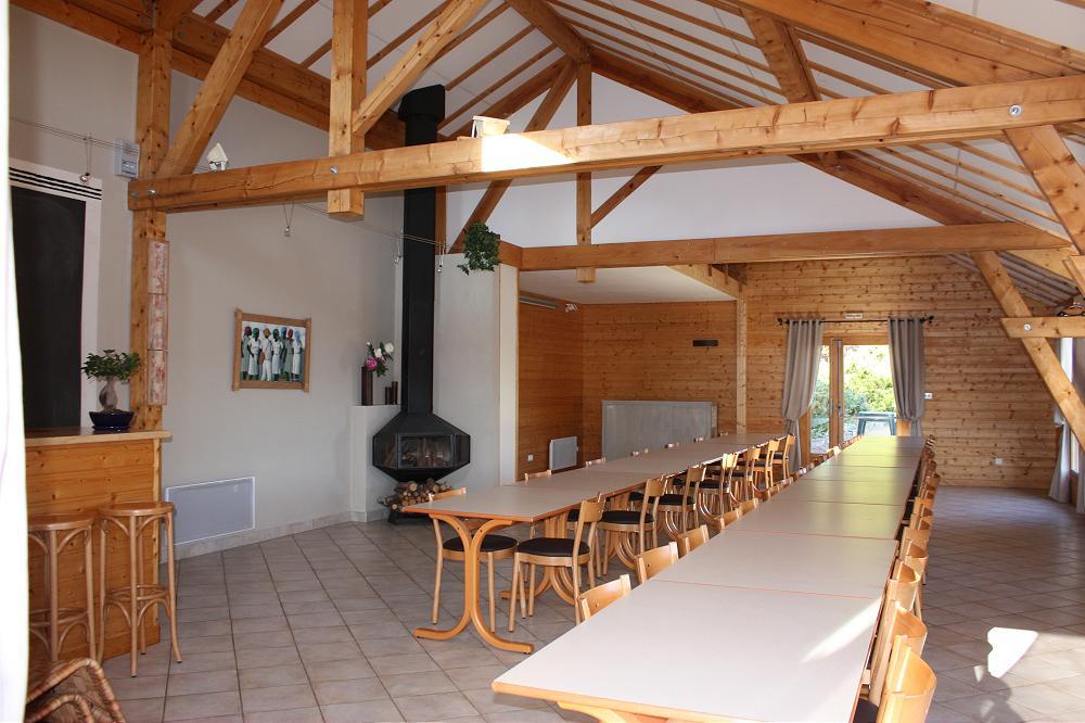 Aydat proche de Clermont-Ferrand location salle mariage et séminaire